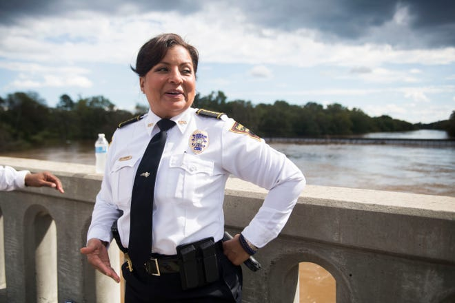 Fayetteville Police Chief Gina Hawkins says her department does not know of any plans for protests related to the election.