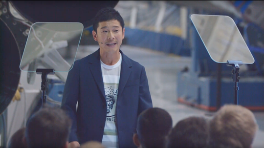Yusaku Maezawa, 42, is SpaceX's first private lunar flight customer and a billionaire entrepreneur from Japan.
