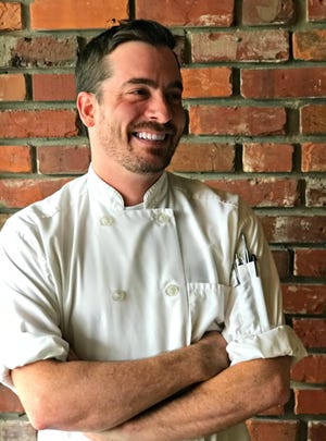 Josh Eslinger is executive chef at Crush XI in downtown Melbourne.