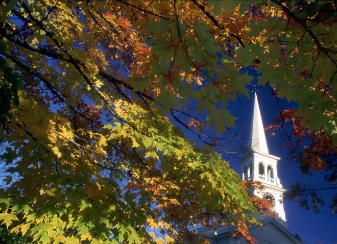 Fall foliage is a treat for day-trippers in the Northeast Kingdom as autumn begins.