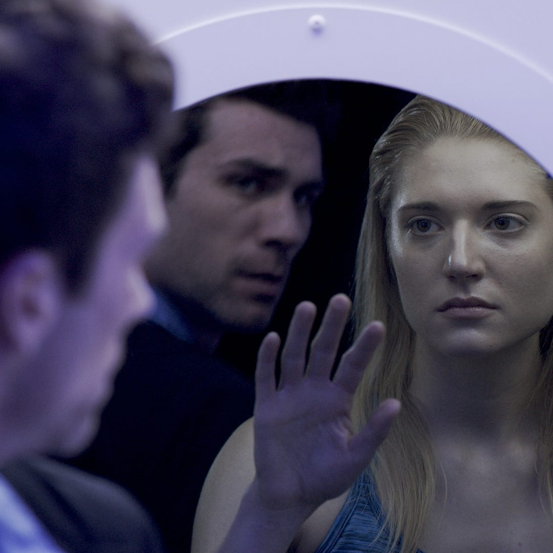 "Cameron Scoggins and Morgan Wolk star in Jay Craven's new film ""Wetware,"" which makes its Vermont debut Saturday in Burlington."