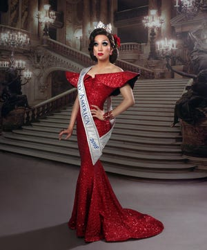 Pattaya Hart is crowned Miss'd America 2018.