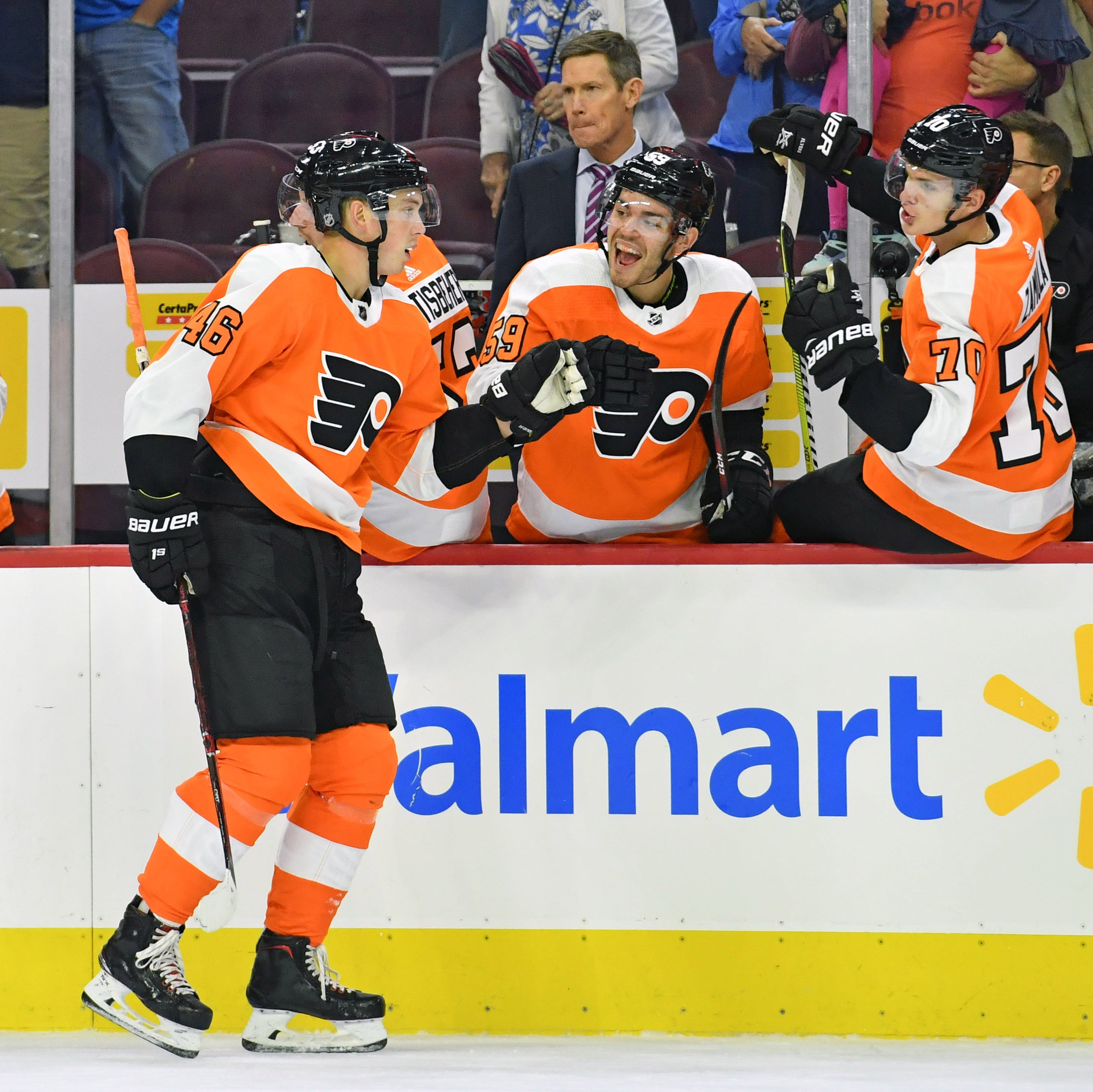 Flyers 5 takeaways: Mikhail Vorobyev makes his case for a roster spot