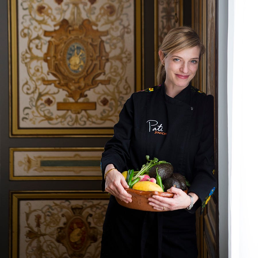 Pati Jinich was in Cincinnati for just 24 hours. Here's what the PBS show host ate