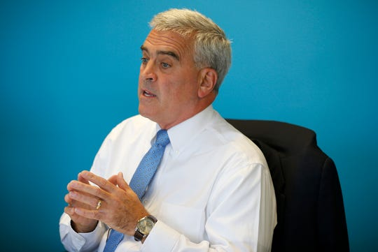 Brad Wenstrup, Representative (R-OH 2nd District).  Photo shot Tuesday, September 18, 2018.