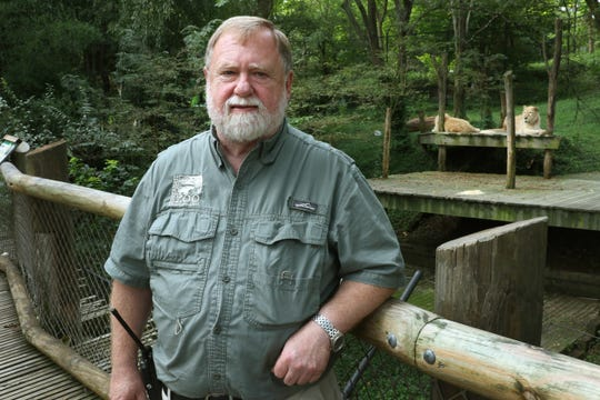 Mike Delaney is the curator of mammals at the Cincinnati Zoo and Botanical Garden. He's been with the white lions since they were first donated by Siegfried and Roy back in 1998.