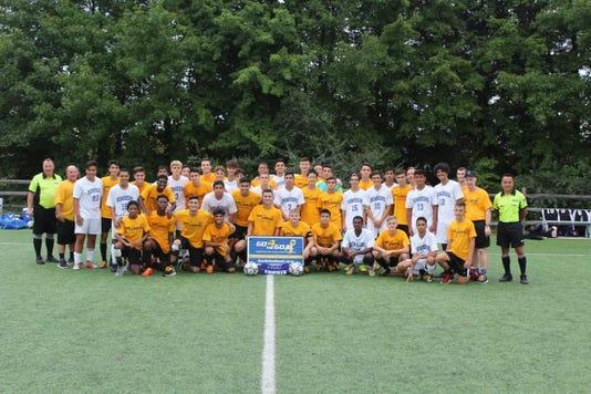 Soccer Old Bridge And Sayreville For Cancer Awareness