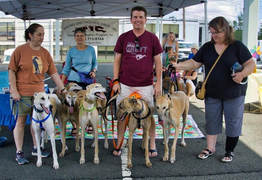 Bridgewater Community Day was held on Sunday, Sept. 16, at Somerset County Vocational & Technical Schools in Bridgewater, where NJ Greyhound Adoption Program (NJGAP) had a booth.