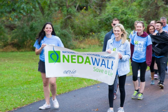 Last year's NEDA walk in Belle Mead.