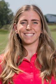 Former Iowa State golfer Celia Barquin Arozamena
