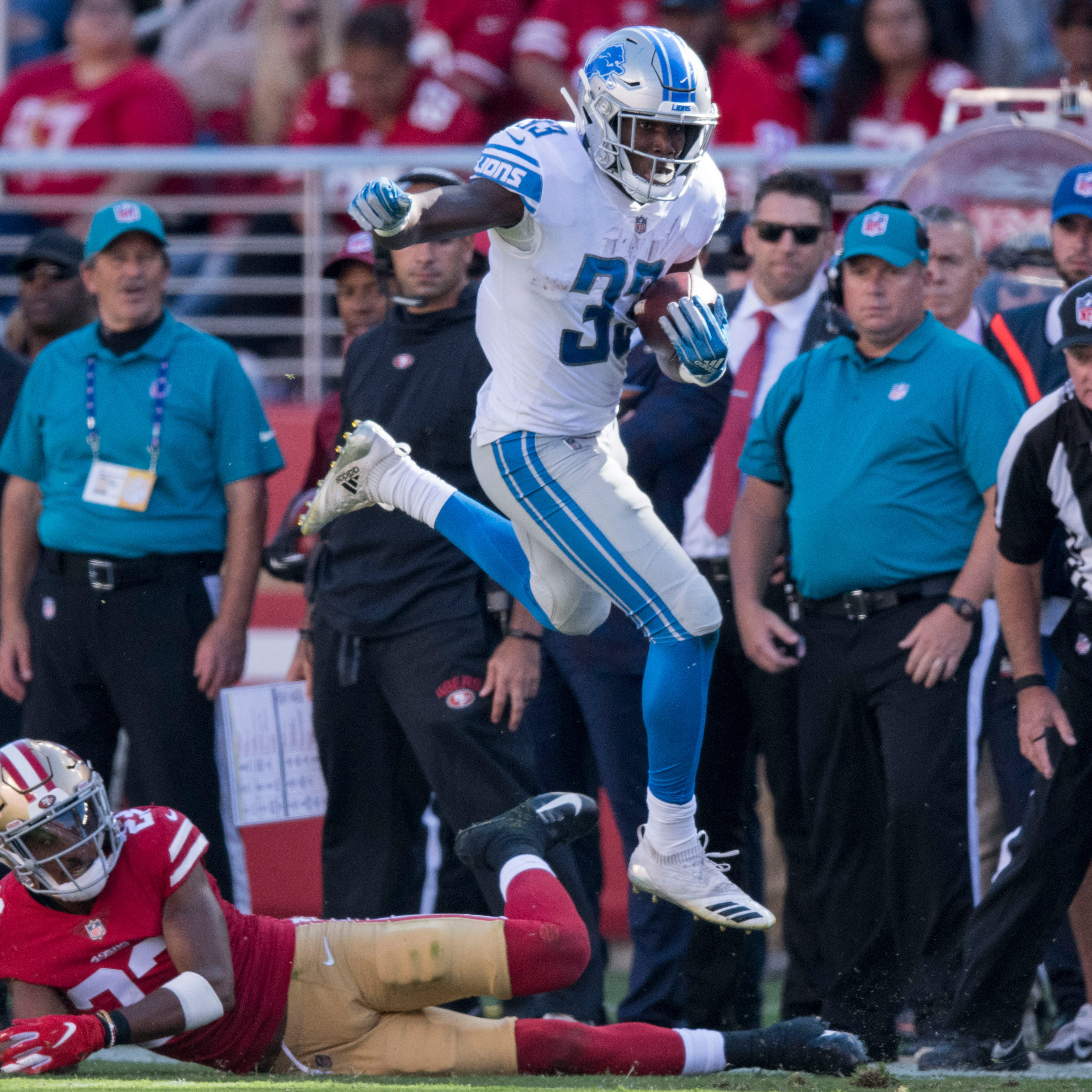 30. Lions (0-2) | Last game: Lost to the 49ers, 30-27 | Previous ranking: 30 | The buzz: Lions have December road games against the only teams lower on this list than them.