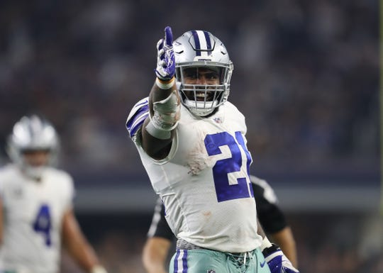 19. Cowboys (1-1) | Last game: Defeated the Giants, 20-13 | Previous ranking: 24 | The buzz: Ezekiel Elliott has to be licking his lips for Week 4 game vs. Lions.