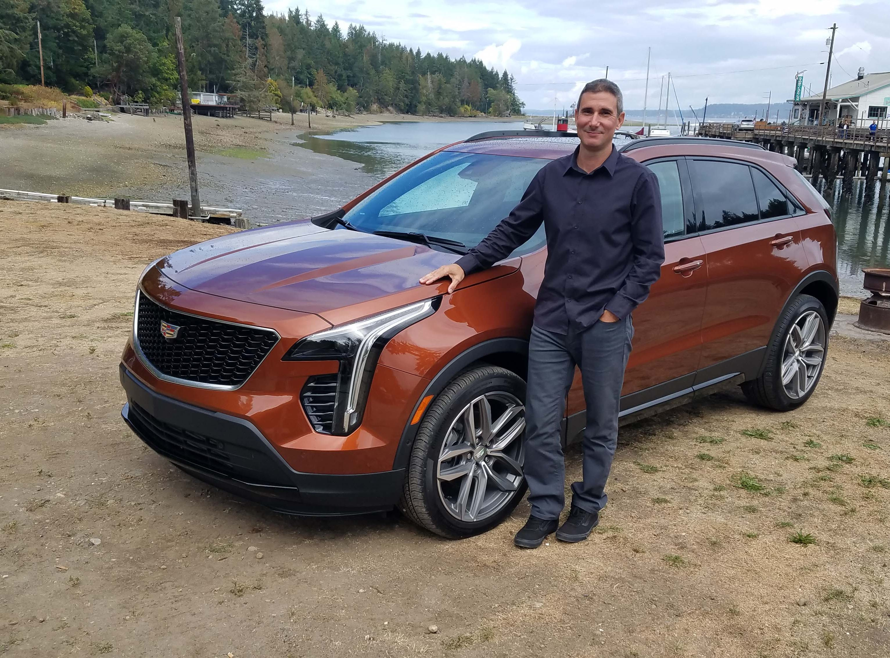 Caddy XT4 interior designer Phil Kucera penned the small ute's roomy, ergonomically-efficient inside. And he likes the exterior, too.