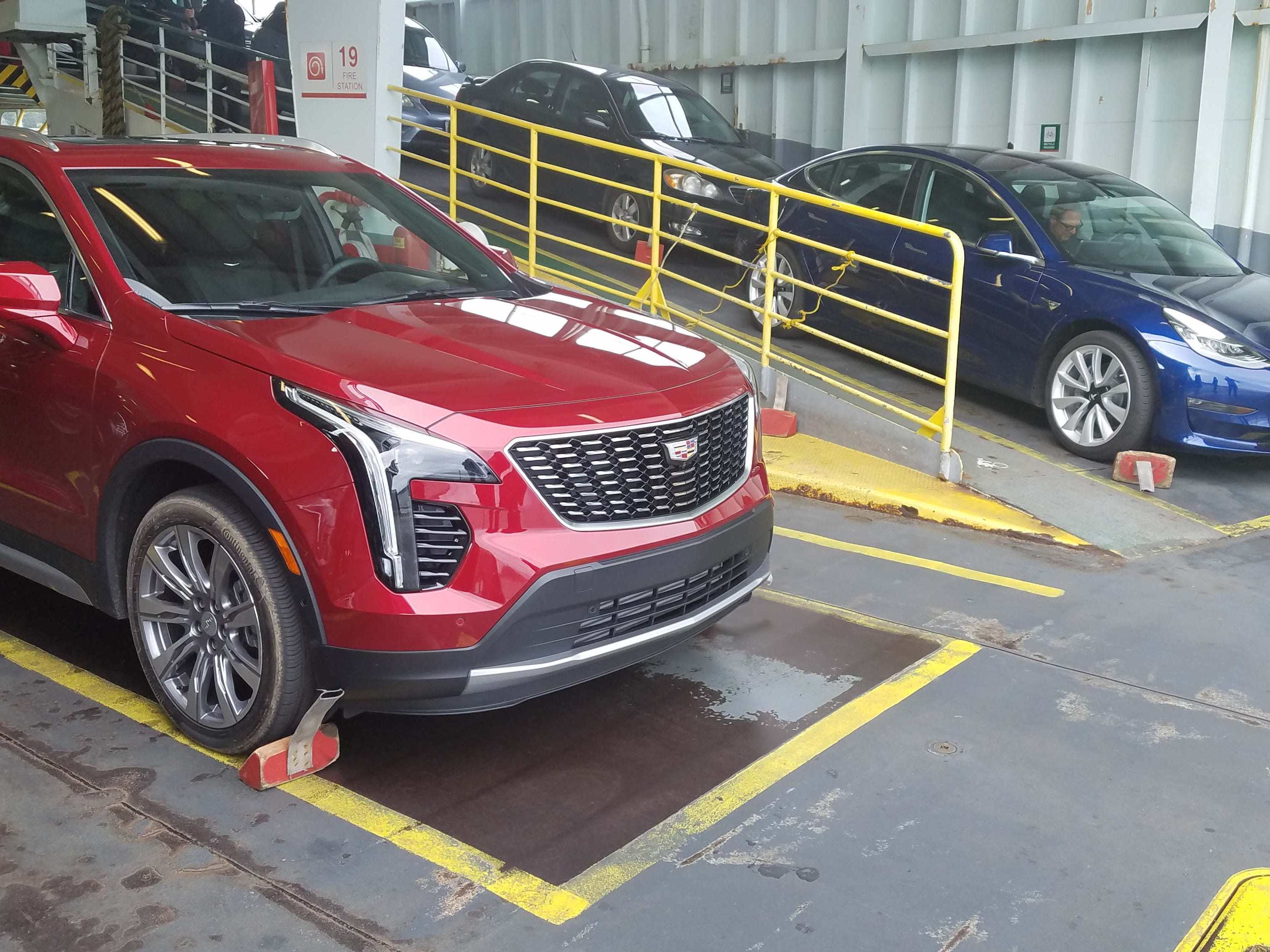 New for 2018. The 2019 Cadillac XT4, left, and Tesla Model 3 are two of the year's most anticipated models.