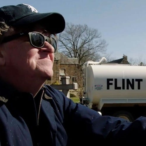 Movie review: Michael Moore vs. everybody in 'Fahrenheit 11/9'
