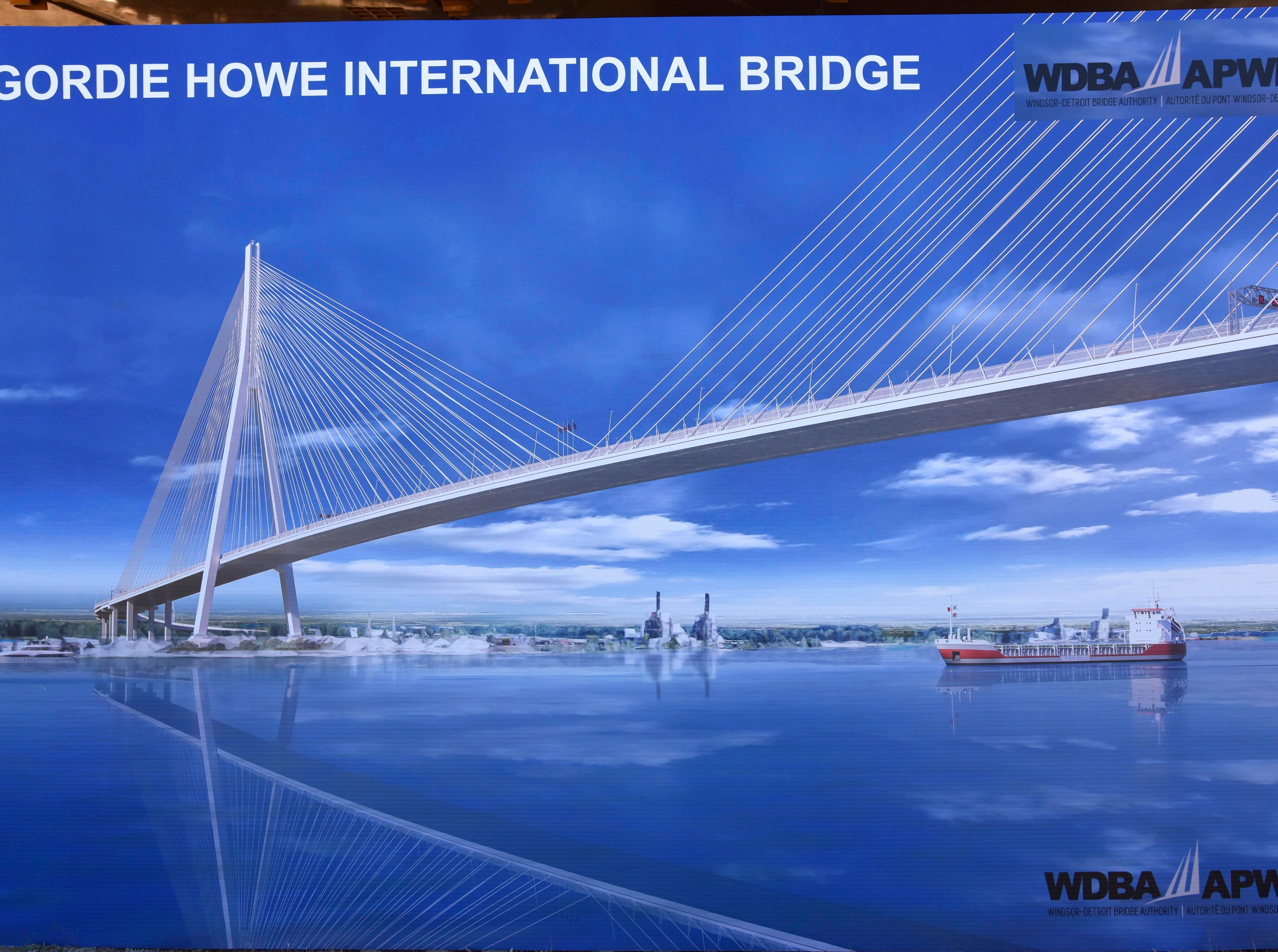 The  Gordie Howe International Bridge  and the customs plazas on both sides of the border will take six years to build, according to the Windsor Detroit Bridge Authority.