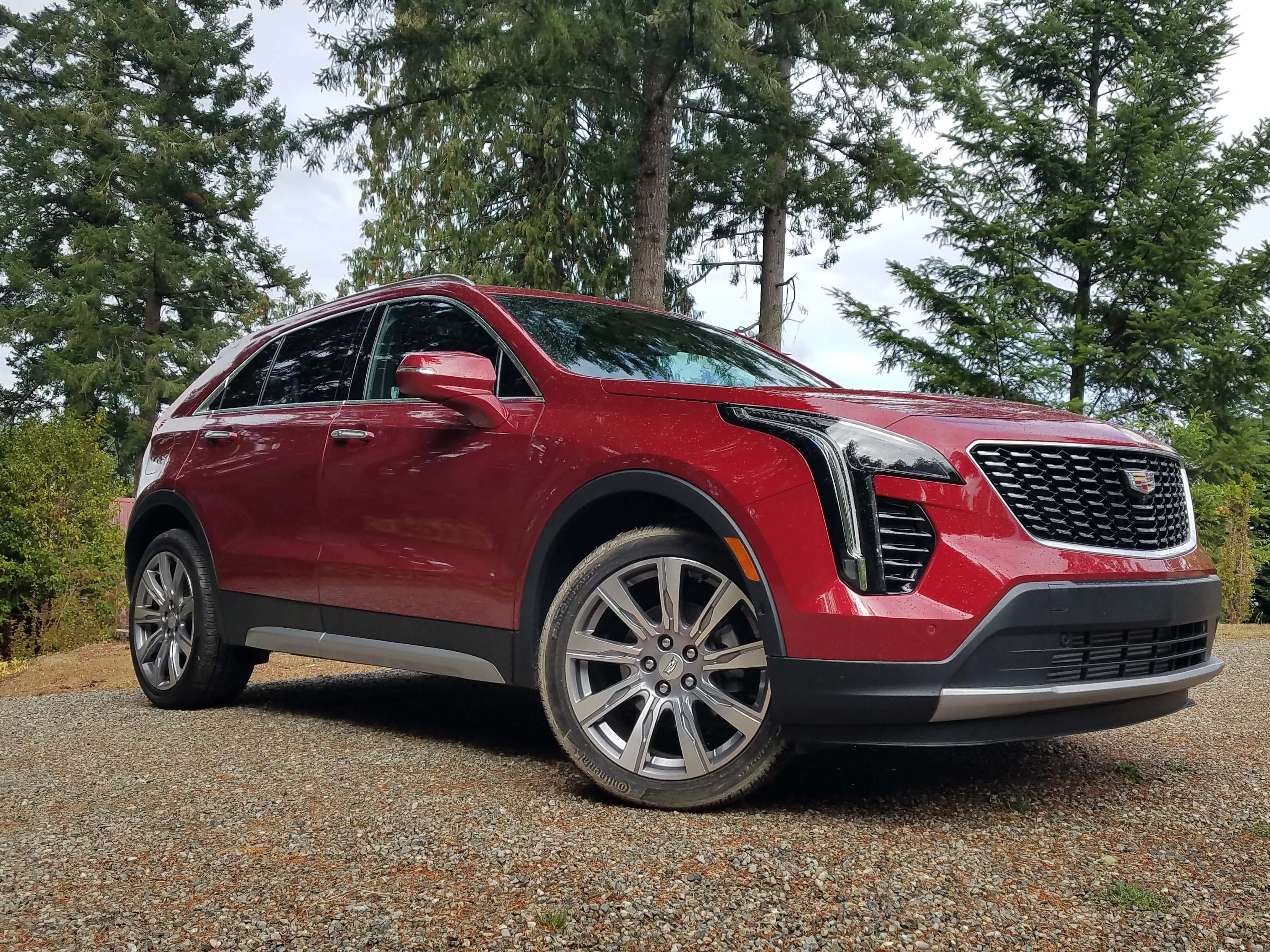 The 2019 Cadillac XT4 gets an all-new platform with lightweight chassis, a tranverse-mounted engine, and front and AWD-drive drivetrain options. The AWD option features twin-clutch torque transfer that aids handling — but is especially helpful in slippery conditions.