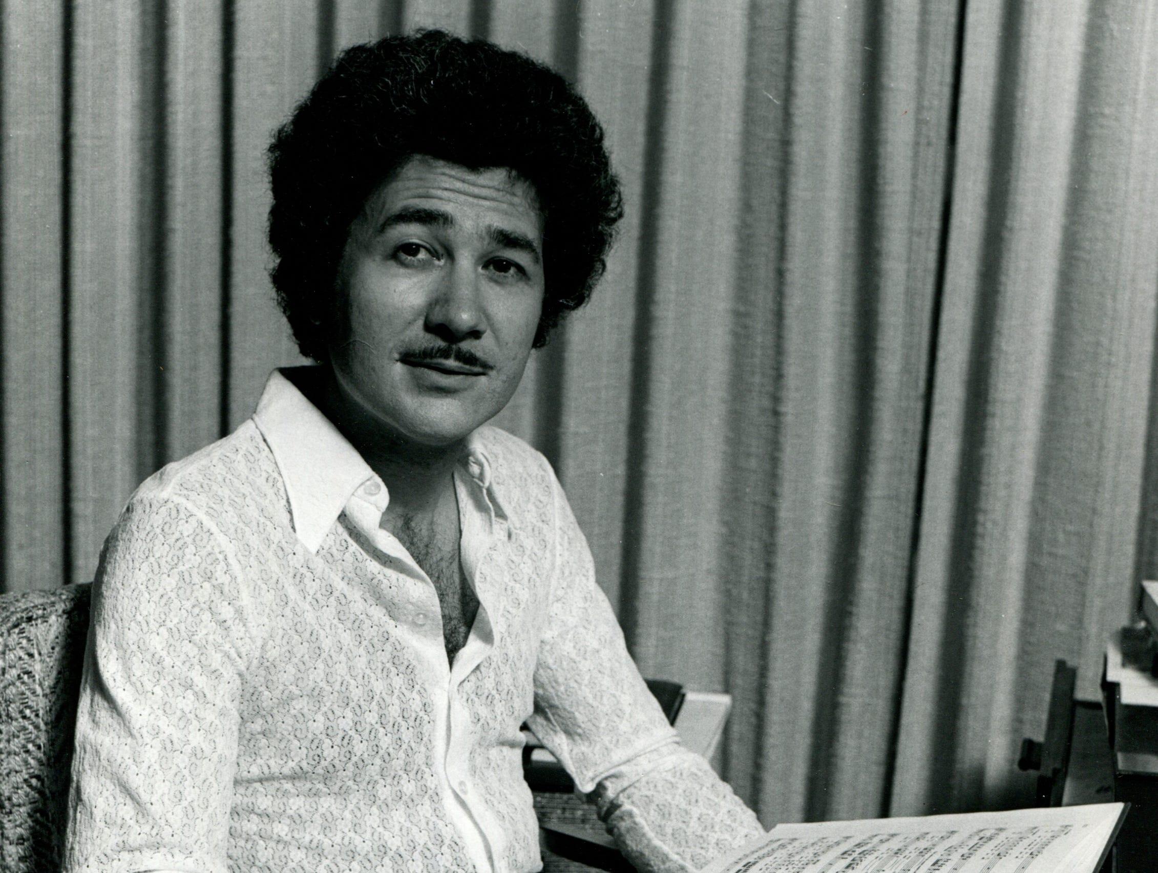 Conductor David DiChiera on May 4, 1973.