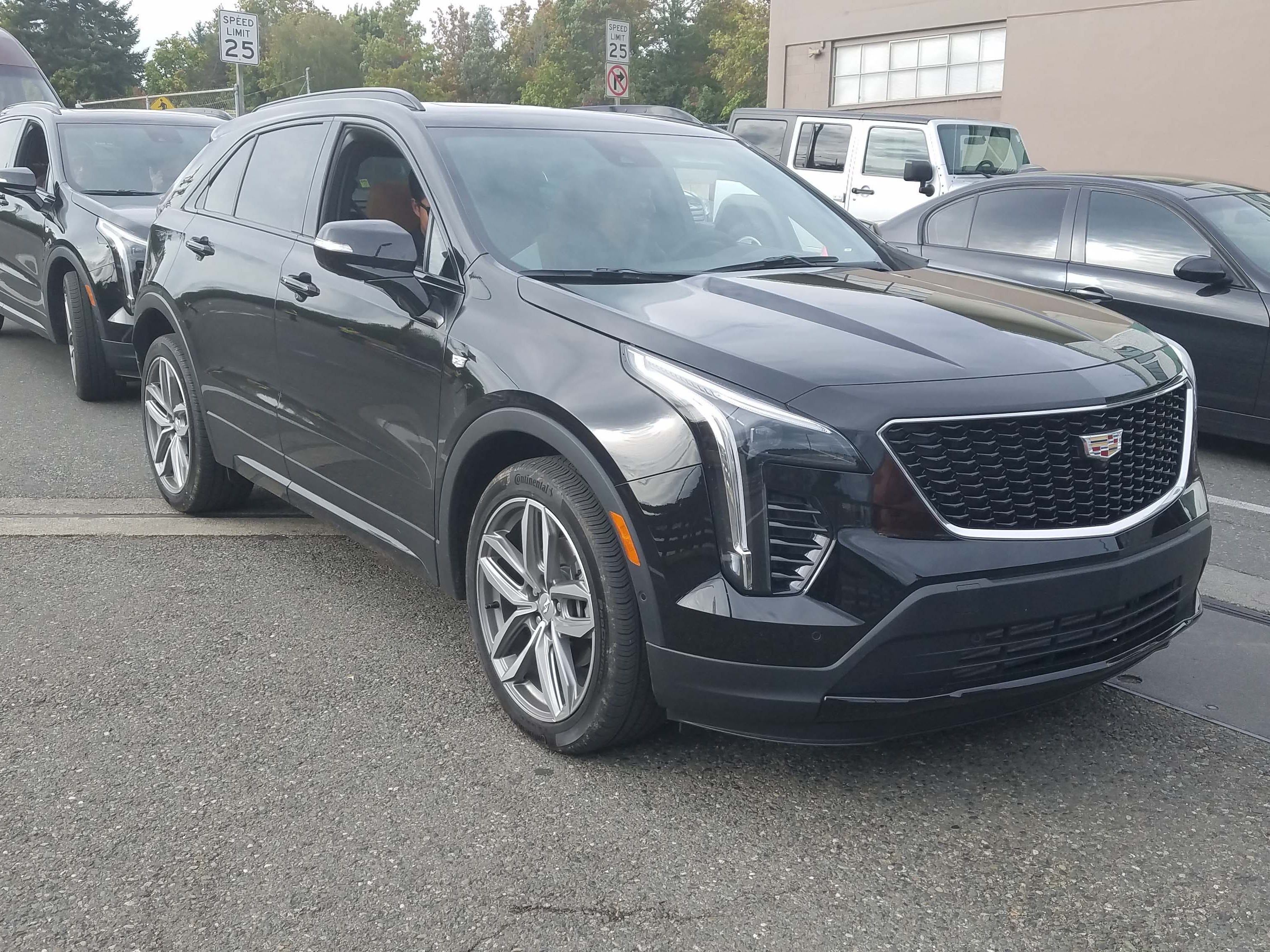 """The 2019 Cadillac XT4 offers two trim """"branches"""" off its base, $35,790 luxury model: Premium Luxury and Sport. Dress the Sport model in black and it has a wicked presence."""