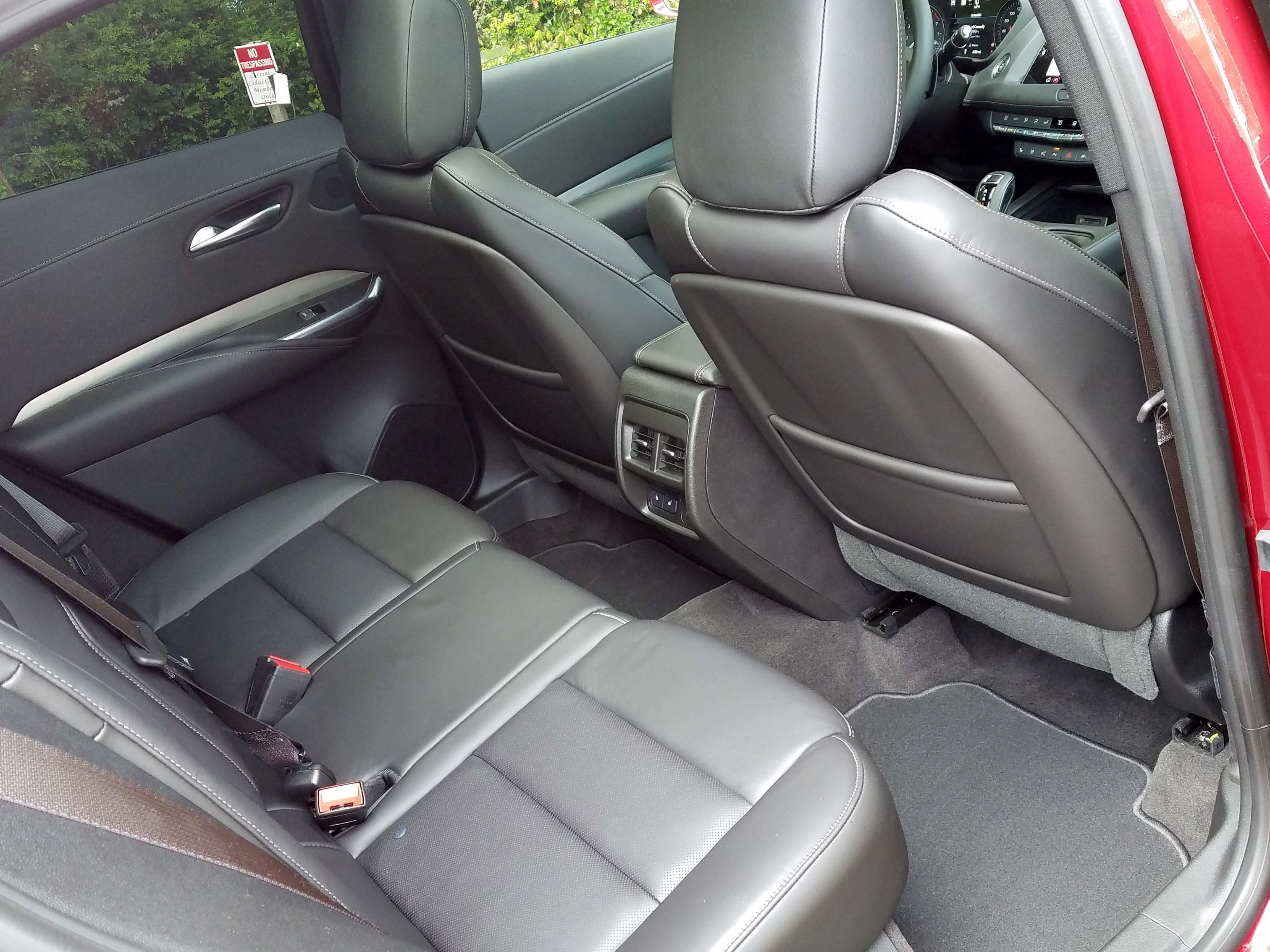 Fit for a 6-footer. The small 2019 Cadillac XT4 offers big benefits with the largest back seat in class.