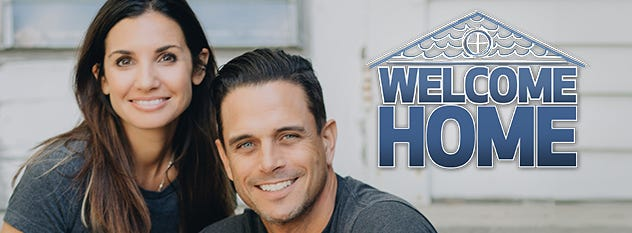 """Treger and Rob Strasberg, founders of Humble Design in Pontiac which helps furnish the homes of people coming out of homelessness, will star in """"Welcome Home."""" Like Humble Design, they'll help families in need."""