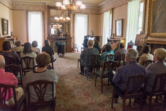 Music in the Parlor offers a concert in the intimate setting of the parlor in President Rutherford and First Lady Lucy Hayes' historic home.