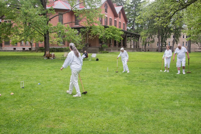 The Croquet Club at the Hayes Presidential Library and Museums invites those interested in learning to play to participate in a match this fall at Spiegel Grove.
