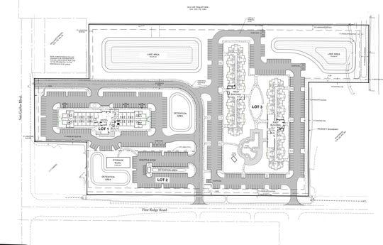 Preliminary site plan for TPI Hospitality's Beaches Gateway Village