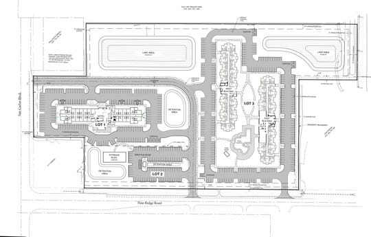 Preliminary site plan for TPI Hospitality's Beaches Gateway Village