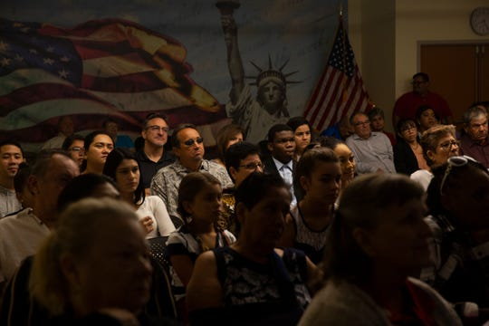 On Tuesday, September 18, 2018, 30 individuals from 13 different nations gathered at the U.S. Citizenship and Immigration Services office located in Fort Myers to pledge allegiance to the United States of America during the Naturalization Oath Ceremony.
