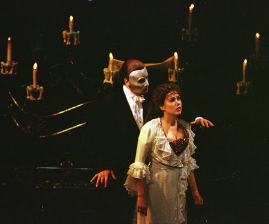 The Phantom of the Opera will take place March 21-24 at the ULM Brown Theatre.