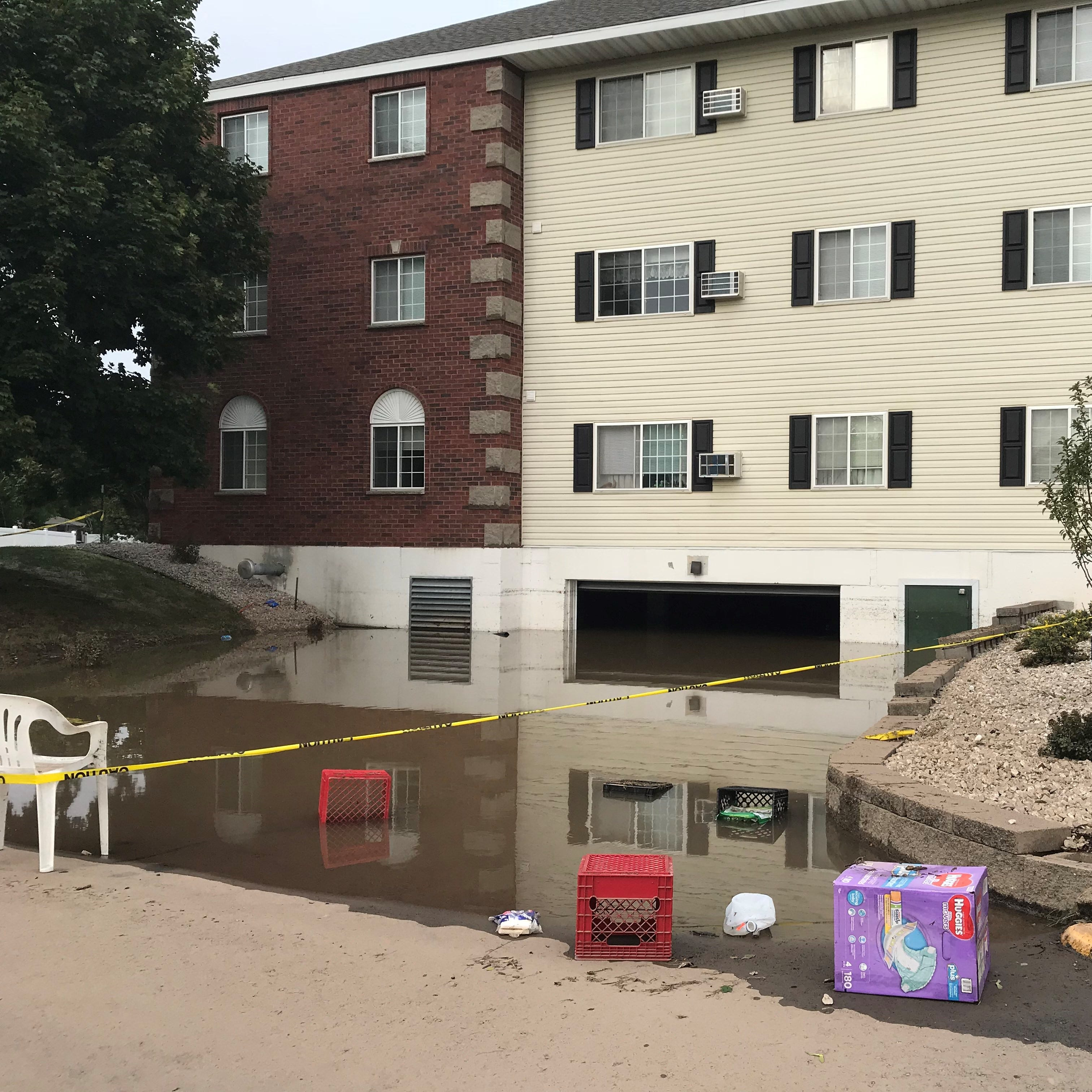 Green Bay storms cause massive flooding, leave 60 in temporary housing