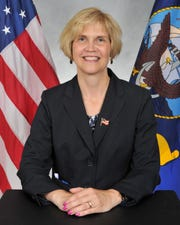 Lynn Simpson, director Total Fleet Force Manpower & Personnel for U.S. Pacific Fleet