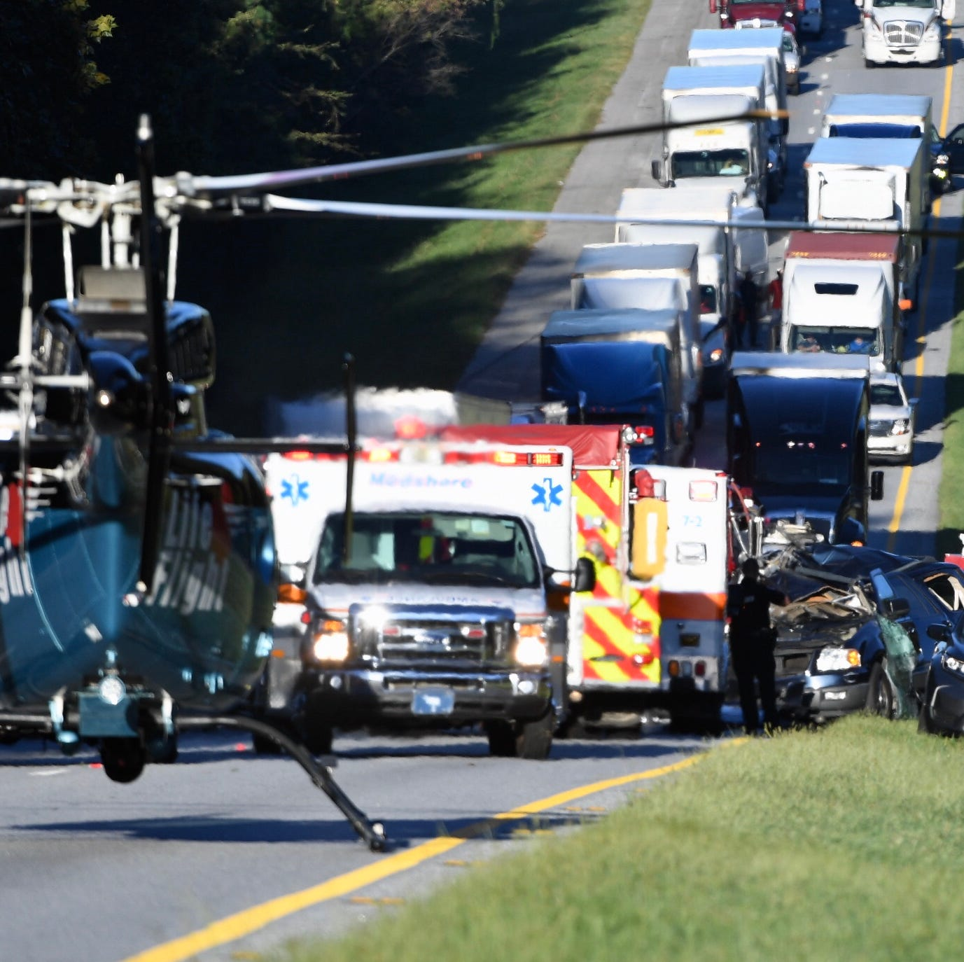 Coroner: Sunlight may have led to fatal wreck on Interstate 85 in Anderson County
