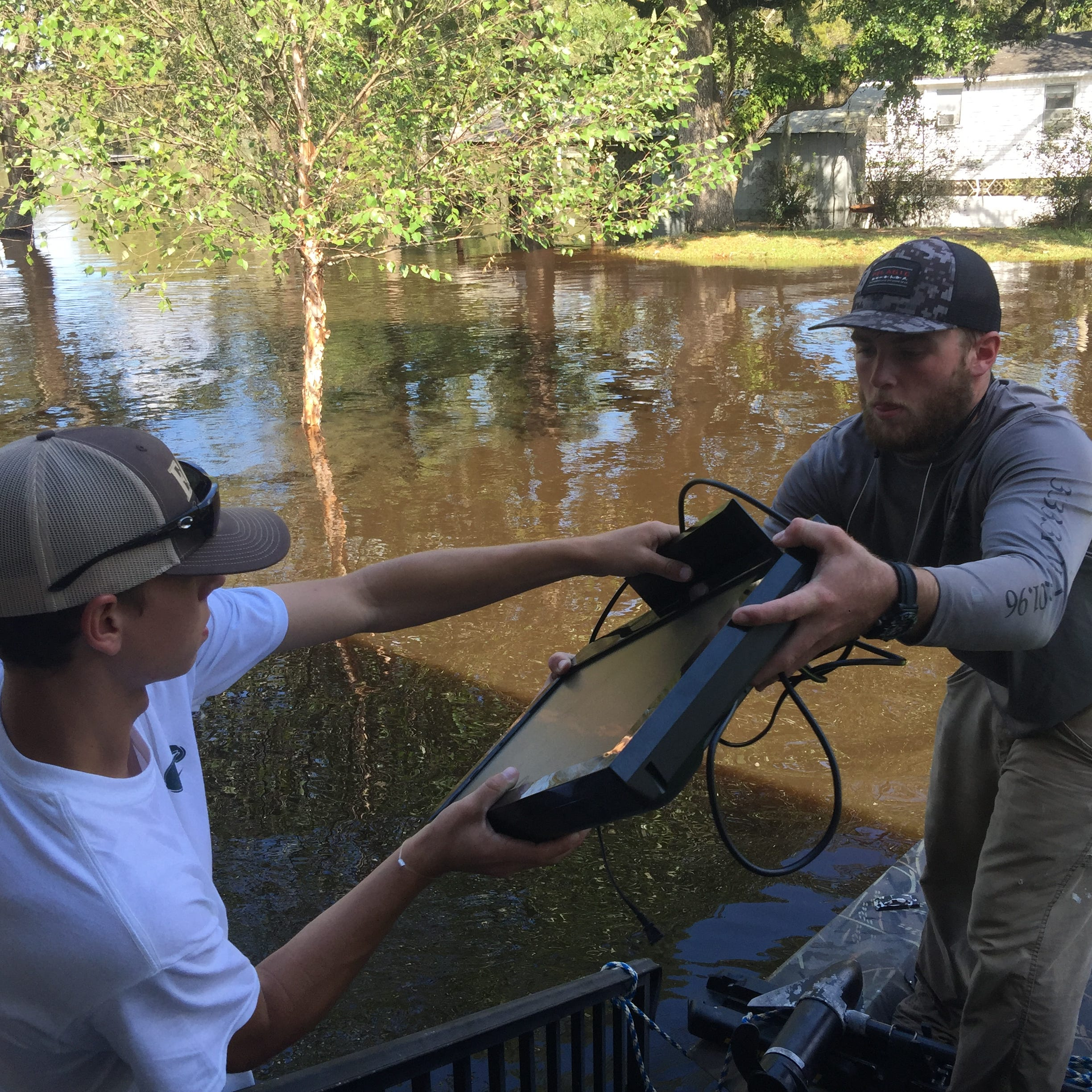 'You cry when you can': Stress mounts for Conway residents losing homes to Florence floods