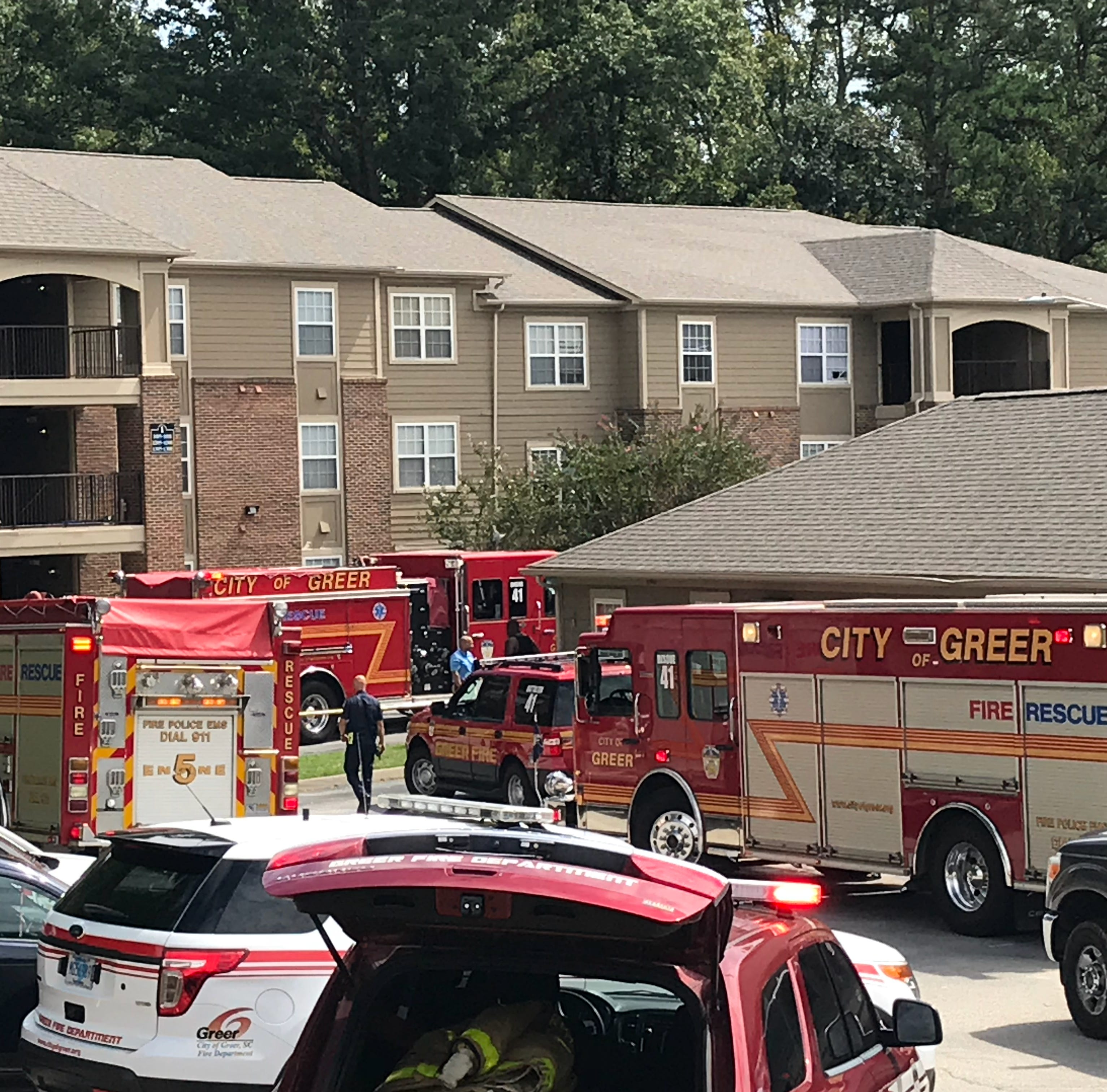Deaths at Greer apartment fire ruled double homicide