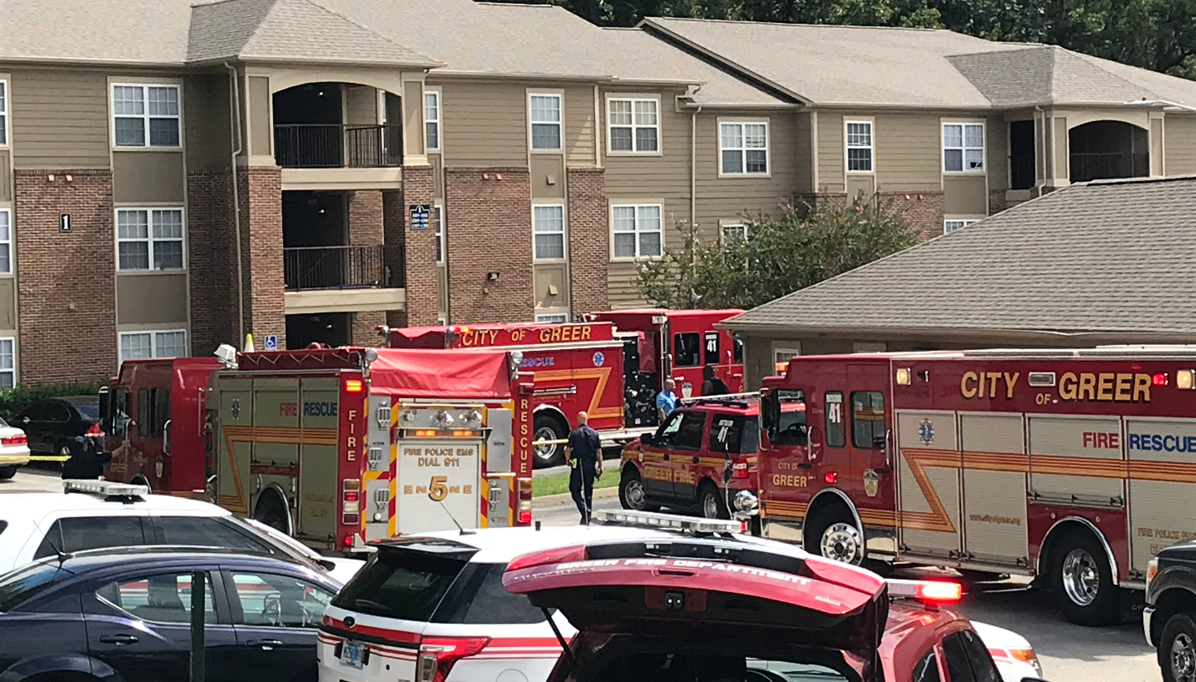 Double homicide in Greer apartment tied to Wellford suicide, authorities say