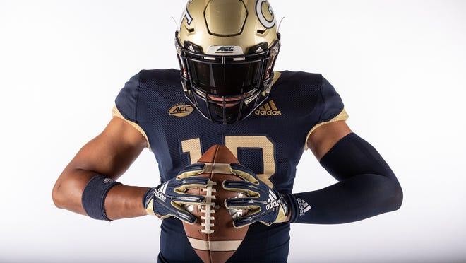 Georgia Tech will sport the same uniform color combination it wore in 1990.