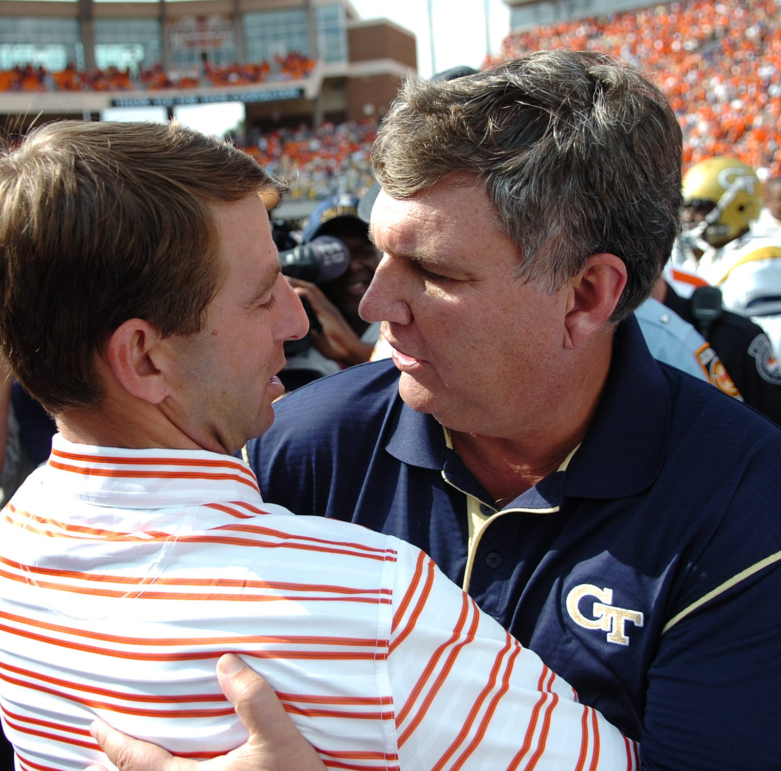 Dabo Swinney: 'I learned real quick' to prepare Clemson for Georgia Tech year-round