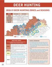 2018-19 Deer Hunting Zones