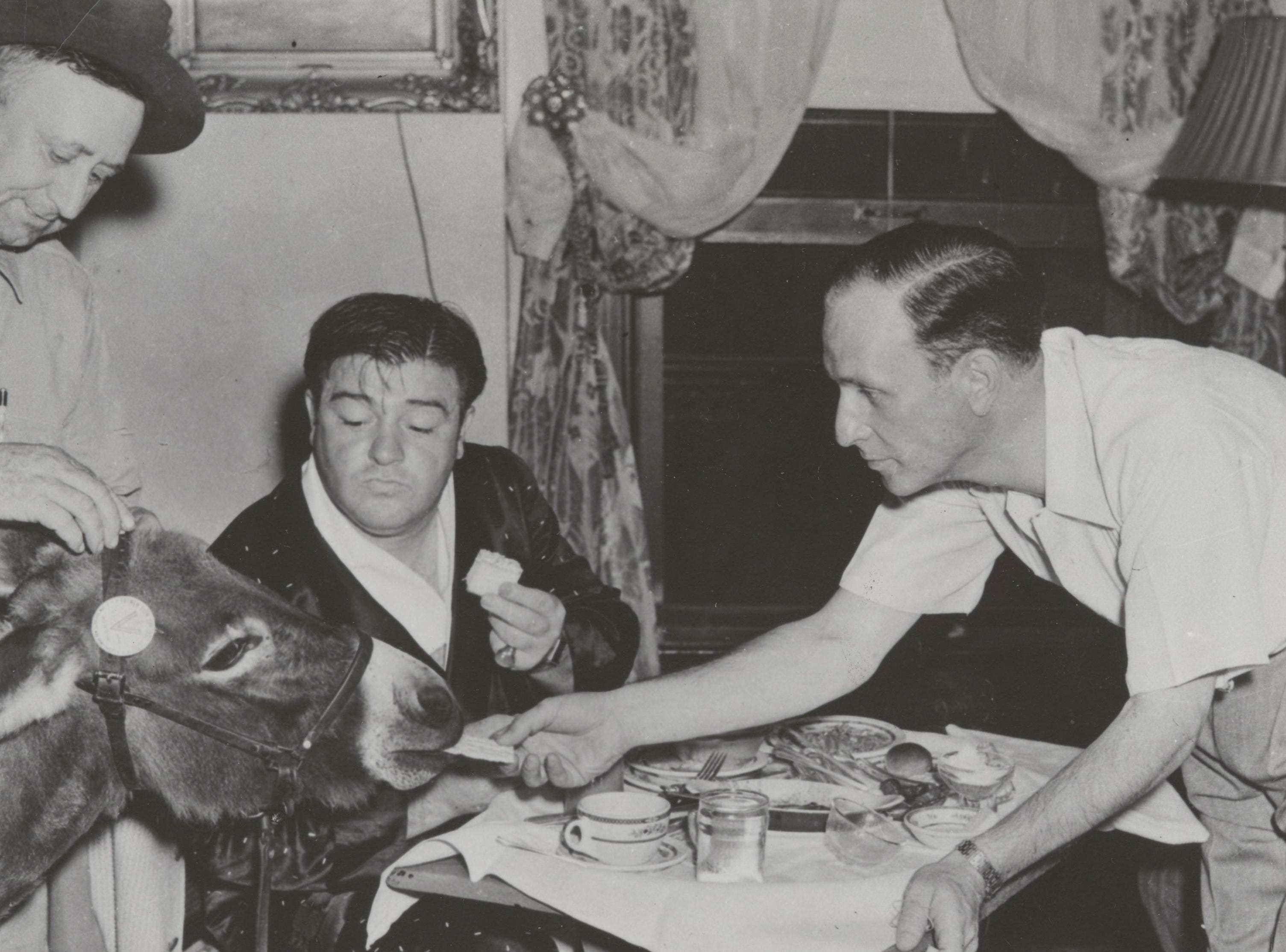 Bud Abbott and Lou Costello were guests at the French Lick Springs Hotel.
