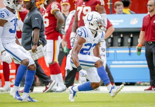 Indianapolis Colts Take On The Washington Redskins