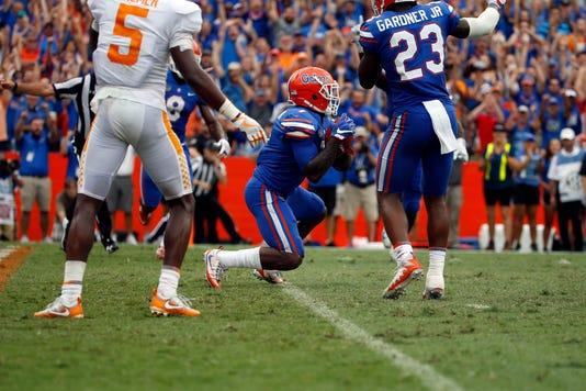 Ncaa Football Tennessee At Florida