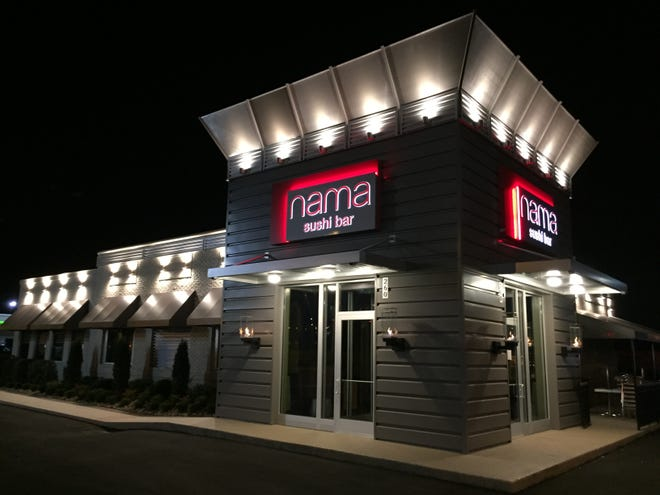Nama Sushi Bar, 260 N. Peters Road, opened for business on Tuesday, Sept. 18, 2018