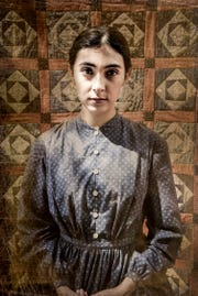 "Brenda Orellana is Grace Marks in ""Alias Grace"" at the University of Tennessee's Carousel Theatre."