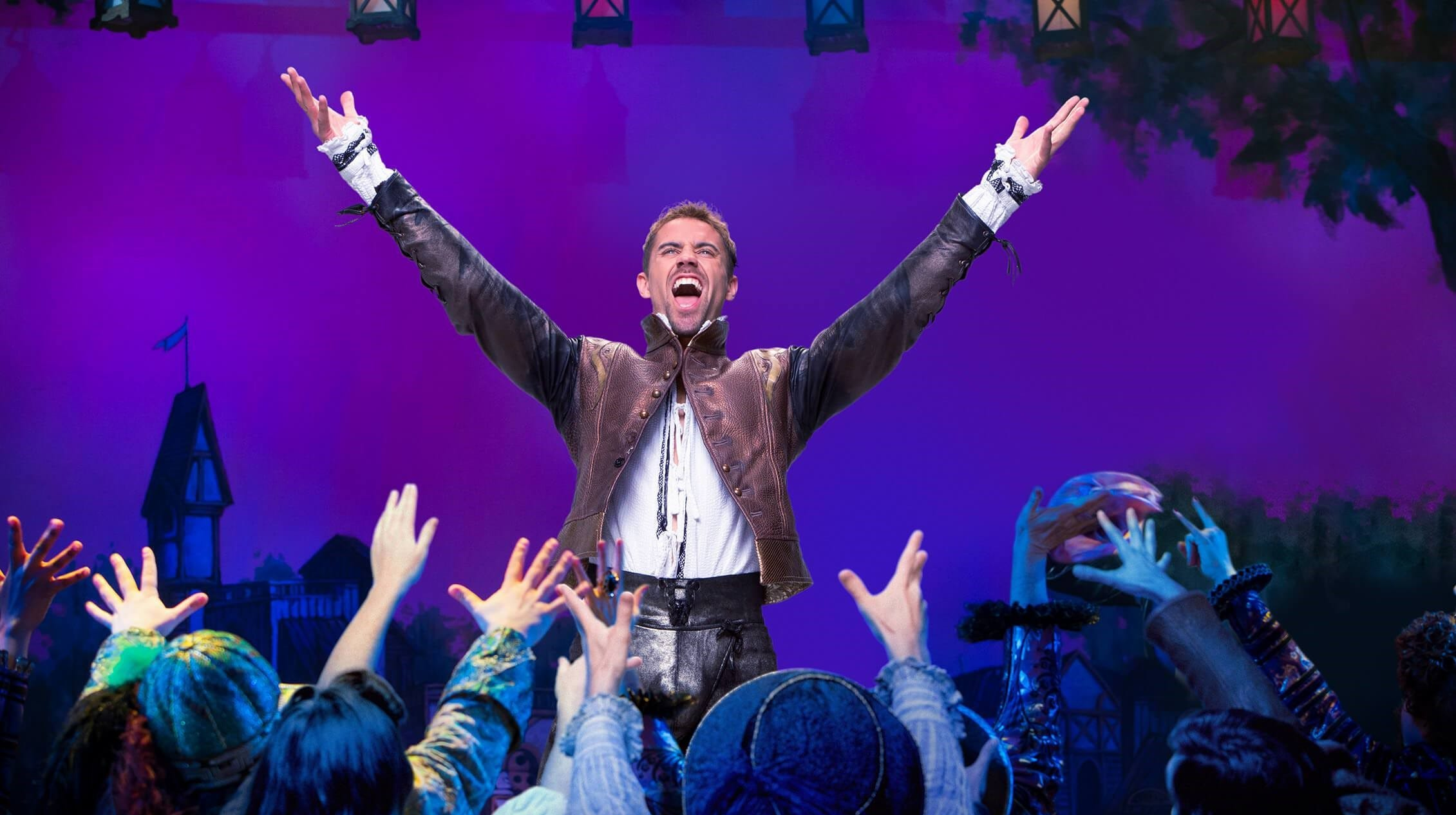 """A scene from """"Something Rotten."""""""