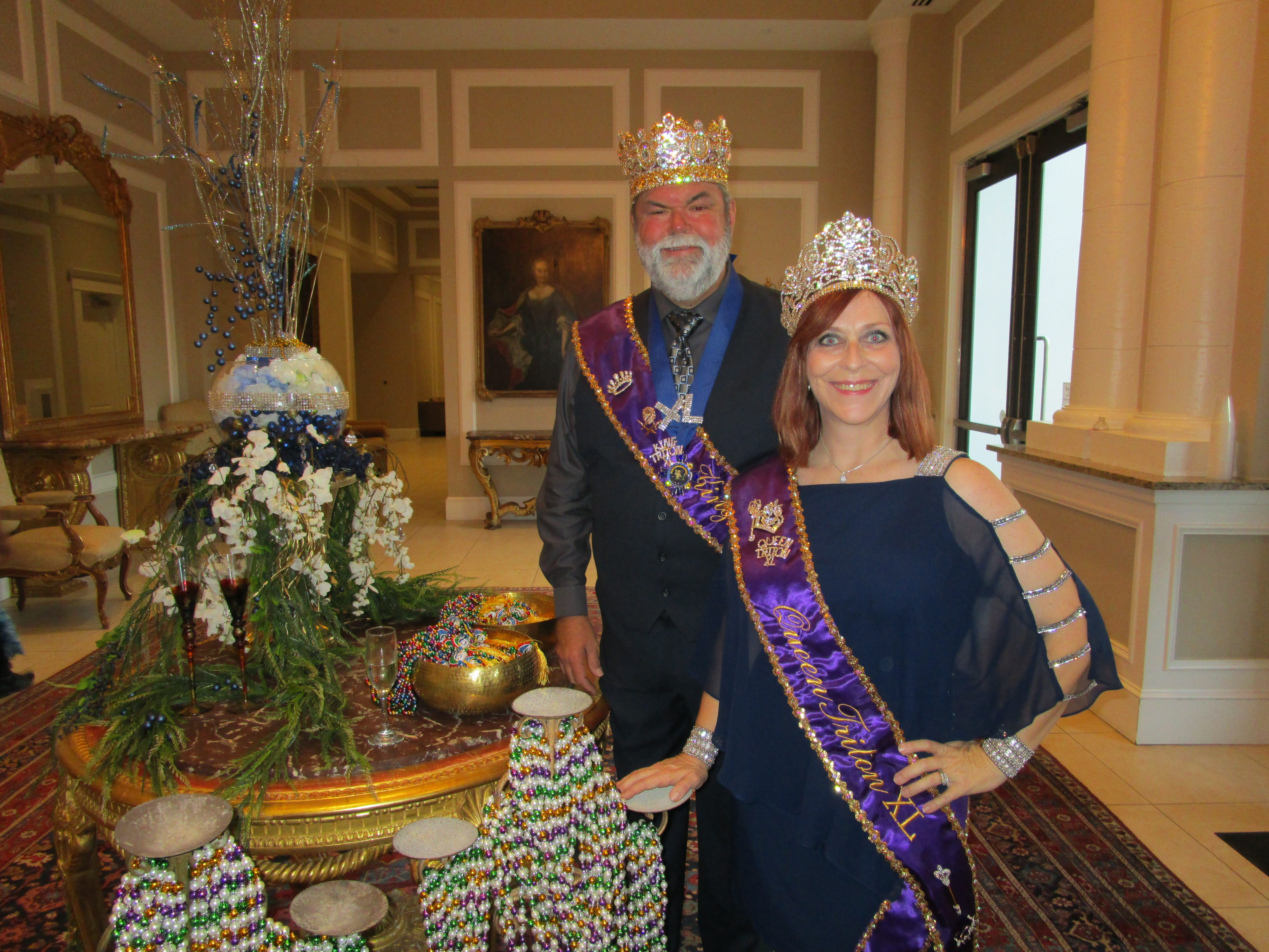 Who are Krewe of Triton's new king and queen?