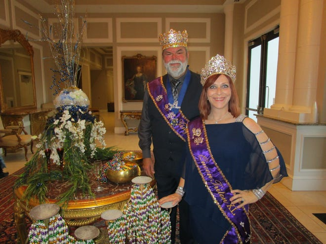 King Triton XL Darryl Myers and Queen Triton XL Sandy Huval