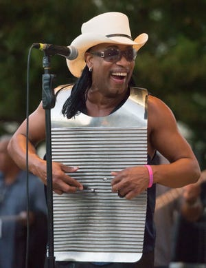 Rockin' Dopsie Jr. performs Saturday at The Grouse Room.