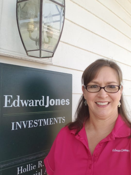 Tiffany Duhon, senior branch office administrator for Edward Jones Investments in Abbeville.